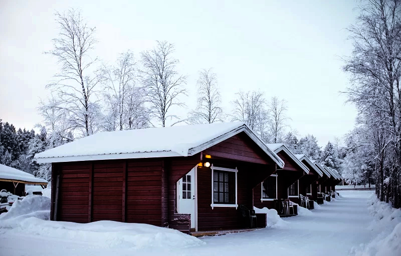 Holiday Village Inari Small Sauna Cabin